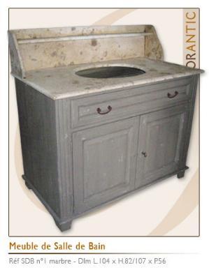 Meubles salle de bains id e meuble salle de bain for Meuble de salle de bain style ancien