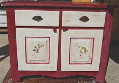 Mobilier peint relooking gard peintre d corateur peinture d corative stage - Relooking meuble bordeaux ...